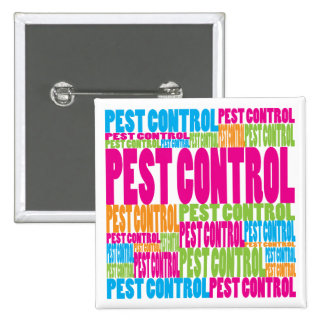 Colorful Pest Control Pin
