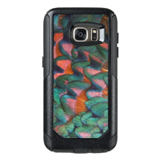 Colorful Pheasant Feathers Abstract OtterBox Samsung Galaxy S7 Case