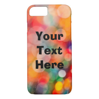 Colorful Phone Case with Customizable Text