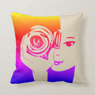 Colorful Photography Pillow