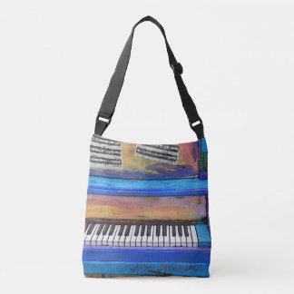 Colorful Piano Crossbody Bag