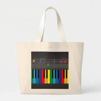Colorful piano keyboard bags