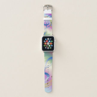 Colorful Piano Melody Apple Watch Band