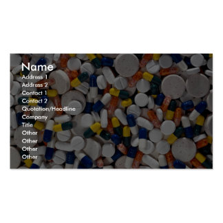 Colorful Pills Business Cards