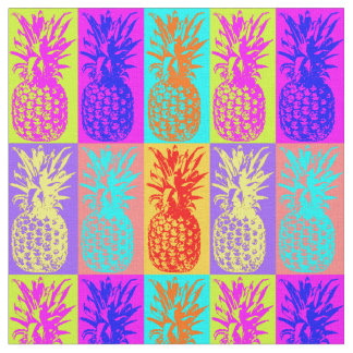 colorful Pinapples,summer Fabric