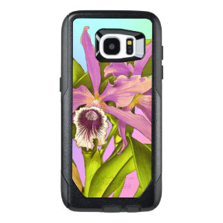 Colorful Pink Orchids OtterBox Samsung Galaxy S7 Edge Case