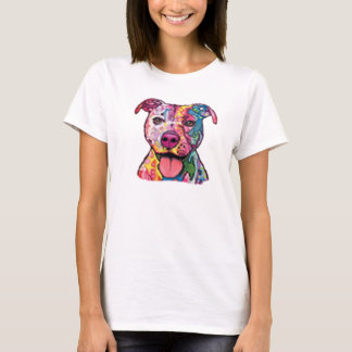 Colorful Pitbull T-Shirt