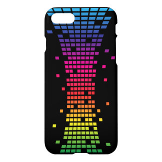 colorful pixel iPhone 7 case