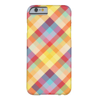 Colorful Pixels Plaid iPhone 6 case Barely There iPhone 6 Case