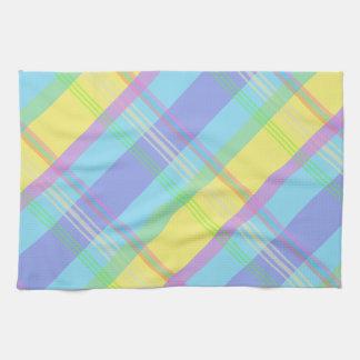 Colorful Plaid Towel