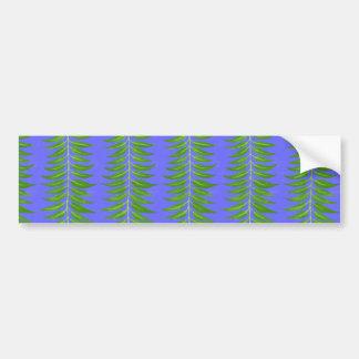 Colorful Plain Patterns - Customize own text Bumper Sticker