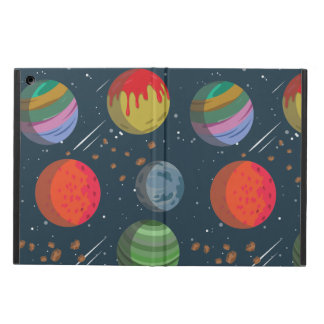 Colorful Planets in Outer Space iPad Air Cover