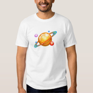 Colorful Planets Shirts