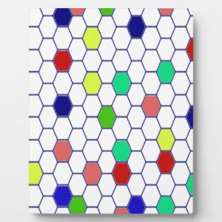 Colorful Plaque