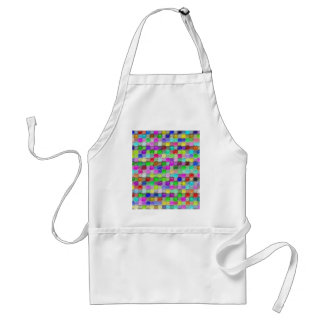 colorful plastic wax pattern aprons