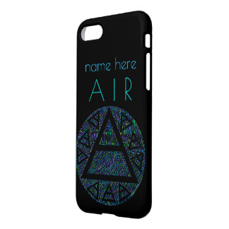 Colorful Platos Air Sign Triad iphone7 Add Name iPhone 7 Case