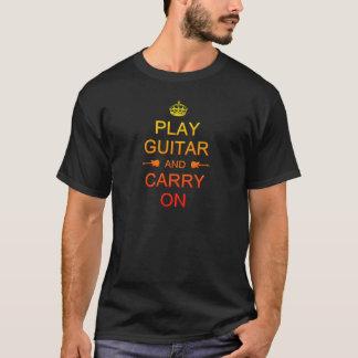 Colorful Play Guitar T-Shirt
