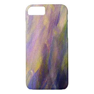 Colorful Plum Purple Textured Phone Case