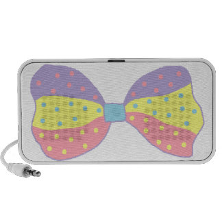 Colorful Polka Dots Bow Mp3 Speaker
