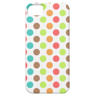 Colorful Polka Dots iPhone 5 Covers