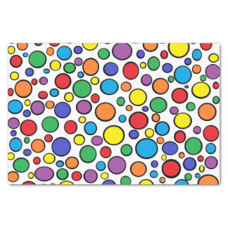Colorful Polka Dots Tissue Paper