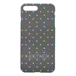 Colorful Polkadots Pattern iPhone 8 Plus/7 Plus Case