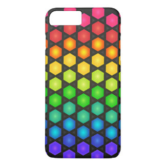 Colorful Polygon Pattern iPhone 7 Plus Case