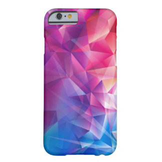 Colorful Polygonal Design Barely There iPhone 6 Case