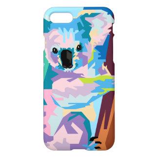 Colorful Pop Art Koala Portrait iPhone 7 Case