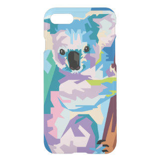 Colorful Pop Art Koala Portrait iPhone 8/7 Case