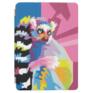 Colorful Pop Art Lemur Portrait iPad Air Cover