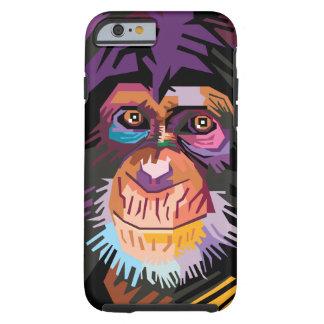 Colorful Pop Art Monkey Portrait Tough iPhone 6 Case