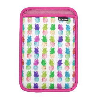 Colorful pop art painting pineapple pattern iPad mini sleeve