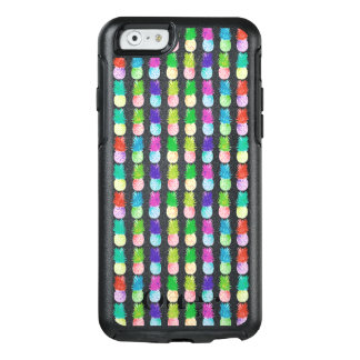 Colorful pop art painting pineapple pattern OtterBox iPhone 6/6s case