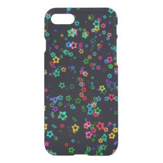 Colorful Pop Neon Star iPhone 8/7 Case