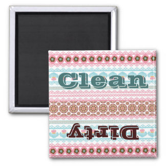 Colorful Pretty Pattern Gifts for Her Square Magnet