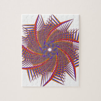 colorful prismatic chromatic jigsaw puzzle