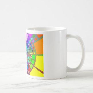 Colorful psychedelic #2 coffee mug