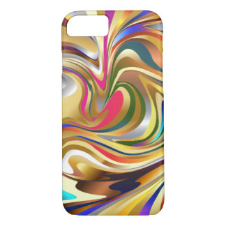 Colorful Psychedelic Background iPhone 8/7 Case