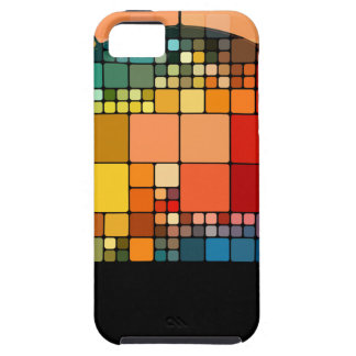 Colorful psychedelic iPhone 5 cover