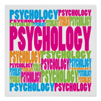Colorful Psychology Poster