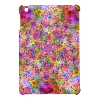Colorful Purple Design iPad Mini Case