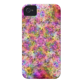 Colorful Purple Design iPhone 4 Case-Mate Case