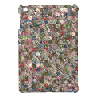 Colorful Quilt Pattern Case For The iPad Mini