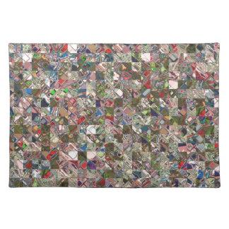 Colorful Quilt Pattern Placemat