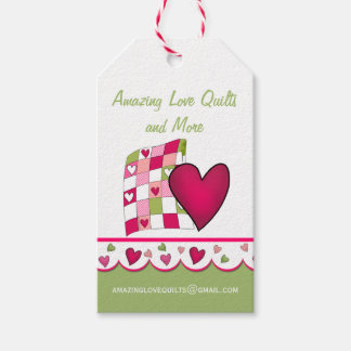 Colorful Quilting Business Product Tags