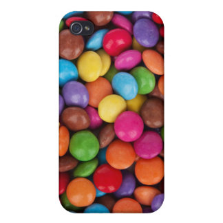 Colorful rainbow candy sweets iPhone 4 cases