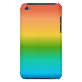Colorful Rainbow color gradient Barely There iPod Cases
