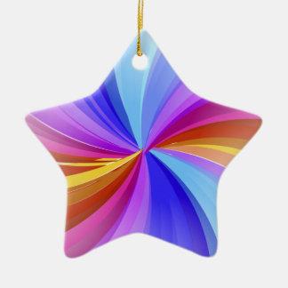 Colorful Rainbow Christmas Tree Ornaments