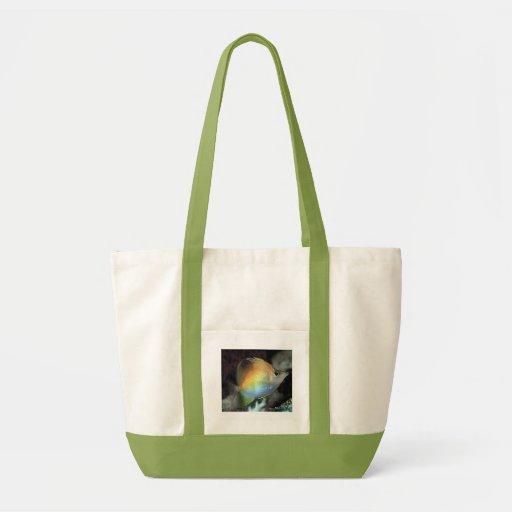 Colorful Rainbow Fish Of The Deep Tote Bag